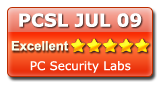 Excellent rating of PC Security Labs