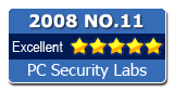 Best in test on PC Security Labs test