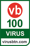 VirusBulletin VB100 Award
