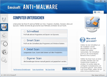 Emsisoft Anti-Malware Scanmethoden