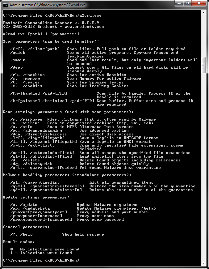 107 KOD COMMAND PROMPT CMD