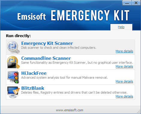 Emsisoft Emergency Kit
