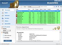 Emsisoft HiJackFree - Running Processes