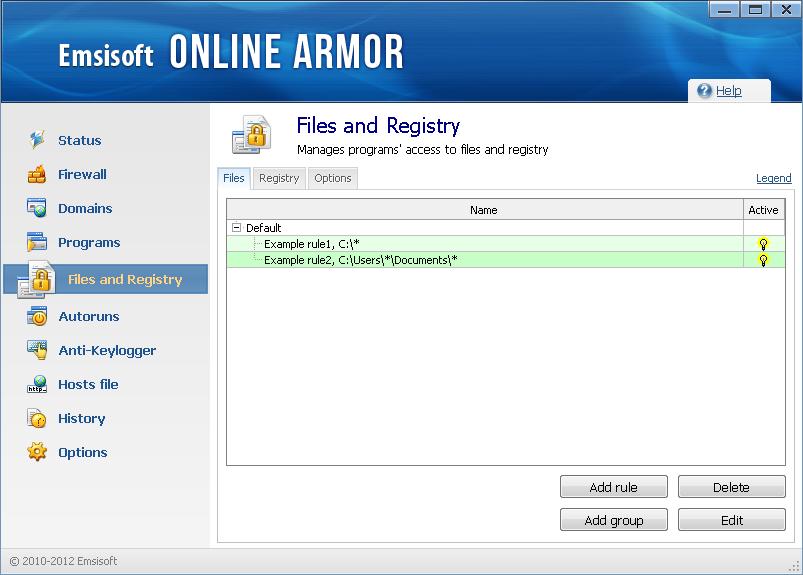 premium filesandregistry - Online Armor Premium Firewall 6.0 (3 Hediye Lisans) ( Sona Erdi )