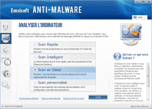 Emsisoft Anti-Malware - Analyser l'ordinateur
