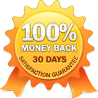 30 Days Money Back - Satisfaction Guarantee - No Questions