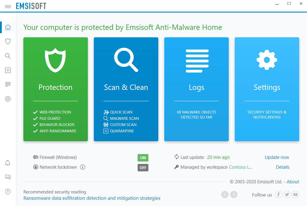 Emsisoft simplifies your security