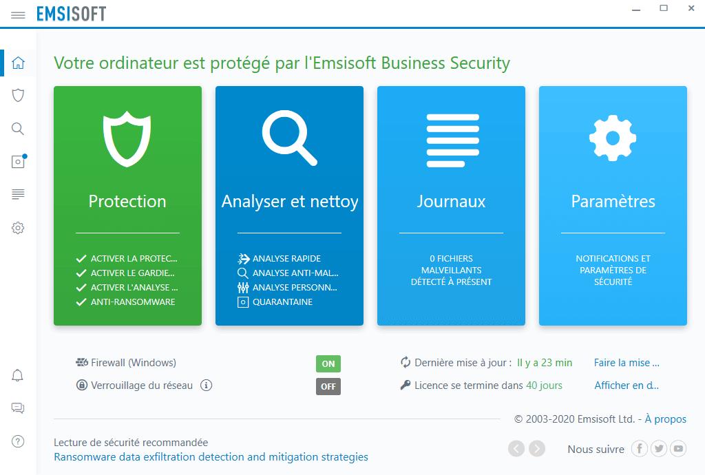 Emsisoft simplifie votre sécurité